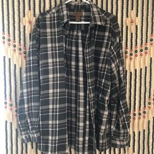 St Johns Bay Mens Flannel (oversized look)
